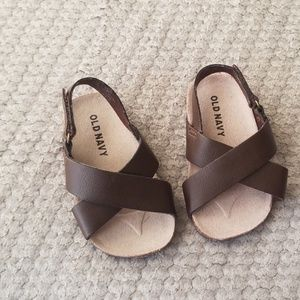 Brown Baby Sandals